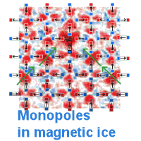 A magnetic monopole caught by magnetic force microscopy.