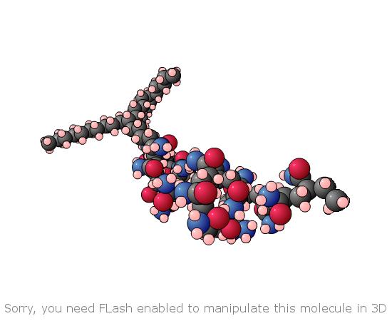 3D molecule static
